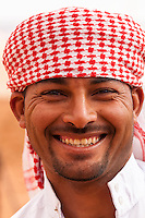 Bedouin man, Captain's Desert Camp, Wadi Rum (in the Arabian Desert), Jordan