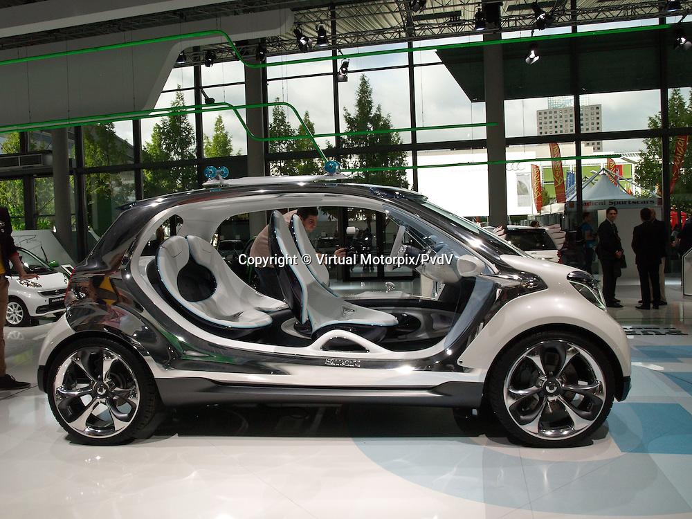 Smart Fourjoy Concept Car, IAA 2013, Frankfurt, Germany
