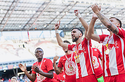 26.05.2019, Red Bull Arena, Salzburg, AUT, 1. FBL, FC Red Bull Salzburg Meisterfeier, im Bild Munas Dabbur (FC Red Bull Salzburg) // during the Austrian Football Bundesliga Championsship Celebration at the Red Bull Arena in Salzburg, Austria on 2019/05/26. EXPA Pictures © 2019, PhotoCredit: EXPA/ JFK