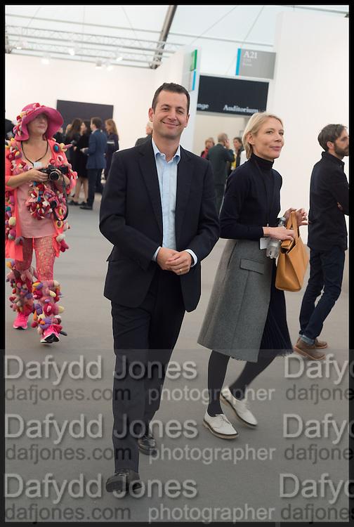 MATHEW SLOTOVER, Opening of Frieze art Fair. London. 14 October 2014