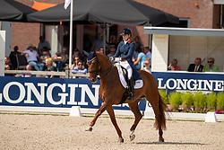 Meulendijks Anne, NED, Hot-Spot PB<br /> World Championship Young Dressage Horses - Ermelo 2019<br /> © Hippo Foto - Dirk Caremans<br /> Meulendijks Anne, NED, Hot-Spot PB