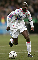 Fotball<br /> 01.03.2006<br /> Frankrike v Slovakia<br /> Foto: Dppi/Digitalsport<br /> NORWAY ONLY<br /> <br /> ALOU DIARRA (FRA)