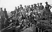 Segregated company of US Soldiers ( Buffalo Soldiers), Camp Wikoff, 1898 during the Spanish-American War National Archives and Records Administration