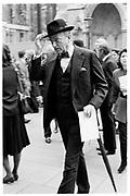 Claus Von Bulon, Marquess of Dulfein, Ara memorial service, St Margaret's, Westminster, 6.10.88© Copyright Photograph by Dafydd Jones 66 Stockwell Park Rd. London SW9 0DA Tel 020 7733 0108 www.dafjones.com