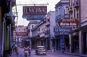 Old Havana street scene,near the Capitolio, 1991