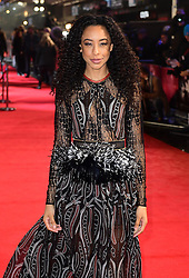 Corinne Bailey Rae arriving for the Fifty Shader Darker European Premiere held at Odeon Leicester Square, London. PRESS ASSOCIATION Photo. Picture date: Thursday February 9, 2016. See PA story SHOWBIZ FiftyShades. Photo credit should read: Ian West/PA Wire