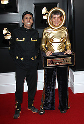 2019 Grammy Awards - Arrivals. 10 Feb 2019 Pictured: Aterciopelados. Photo credit: Jaxon / MEGA TheMegaAgency.com +1 888 505 6342