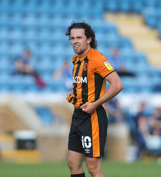Hull City's George Honeyman<br /> <br /> Photographer Rob Newell/CameraSport<br /> <br /> The EFL Sky Bet League One - Gillingham v Hull City - Saturday September 12th 2020 - Priestfield Stadium - Gillingham<br /> <br /> World Copyright © 2020 CameraSport. All rights reserved. 43 Linden Ave. Countesthorpe. Leicester. England. LE8 5PG - Tel: +44 (0) 116 277 4147 - admin@camerasport.com - www.camerasport.com