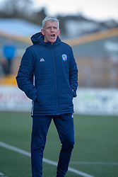Forfar Athletic's manager Jim Weir. Forfar Athletic 3 v 2 Raith Rovers, Scottish Football League Division One played 27/10/2018 at Forfar Athletic's home ground, Station Park, Forfar.