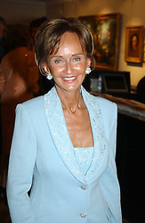 YVONNE, MARCHIONESS OF BRISTOL at auctioneers Sotheby's Summer party held at their showrooms in 34-35 New Bond Street, London W1 on 6th June 2005.<br />