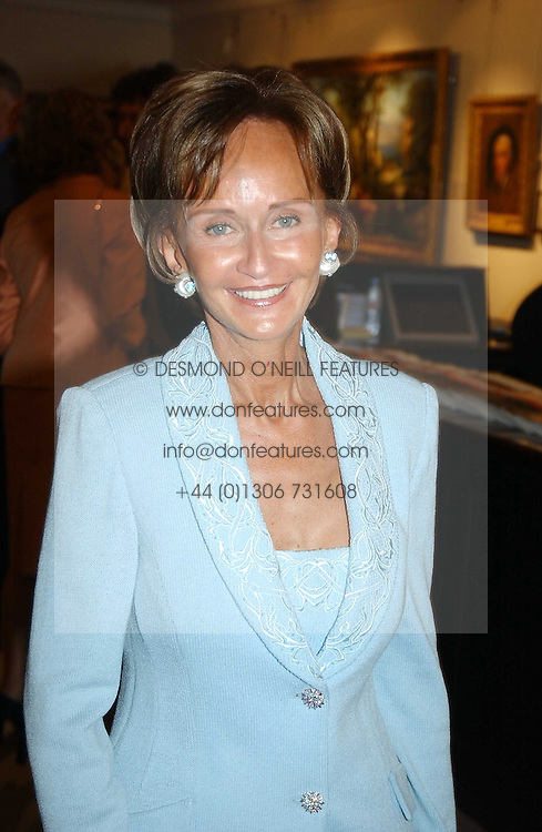 YVONNE, MARCHIONESS OF BRISTOL at auctioneers Sotheby's Summer party held at their showrooms in 34-35 New Bond Street, London W1 on 6th June 2005.<br /><br />NON EXCLUSIVE - WORLD RIGHTS