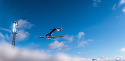 24.02.2017, Lahti, FIN, FIS Weltmeisterschaften Ski Nordisch, Lahti 2017, Nordische Kombination, Skisprung, im Bild Bjoern Kircheisen (GER) // Bjoern Kircheisen of Germany during Skijumping of Nordic Combined competition of FIS Nordic Ski World Championships 2017. Lahti, Finland on 2017/02/24. EXPA Pictures © 2017, PhotoCredit: EXPA/ JFK
