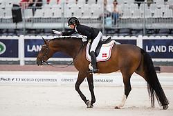 Line Thorining Jorgensen, (DEN), Di Caprio - Individual Test Grade IV Para Dressage - Alltech FEI World Equestrian Games™ 2014 - Normandy, France.<br /> © Hippo Foto Team - Jon Stroud <br /> 25/06/14