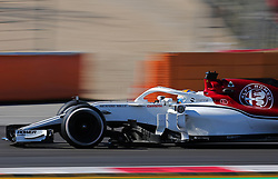 March 6, 2018 - Barcelona, Spain - the Alfa romeo Sauber of Marcus Ericsson during the Formula 1 tests at the Barcelona-Catalunya Circuit, on 06th March 2018 in Barcelona, Spain.  Photo: Joan Valls/Urbanandsport /NurPhoto. (Credit Image: © Joan Valls/NurPhoto via ZUMA Press)
