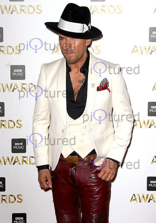Matt Goss, BBC Music Awards 2016, Excel Centre, London UK, 12 December 2016, Photo by Brett D. Cove