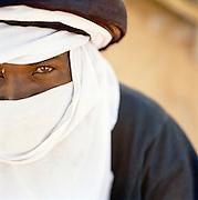 Portrait of a Tuareg tribesman, Libya