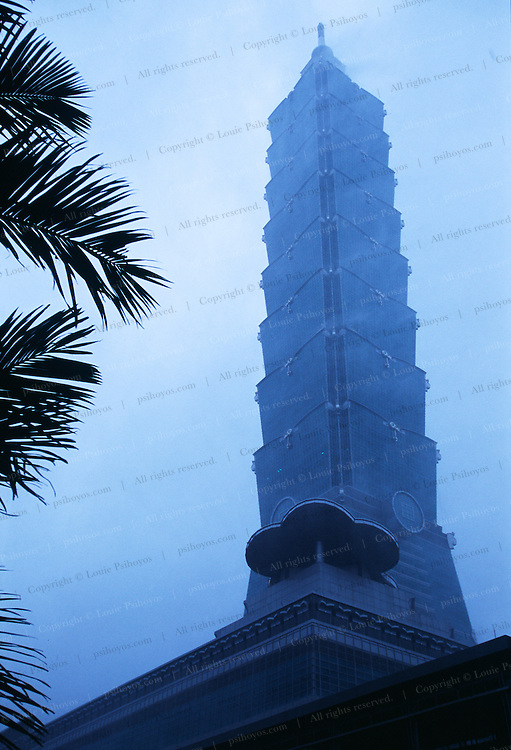 With gusts up to 150 m.p.h. the worst typhoon in Taiwan's recent history, and the most wind it was rated against, the world's tallest building stood firm.
