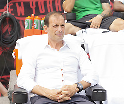 July 28, 2018 - Harrison, New Jersey, United States - Juventus manager Massimiliano Allegri attends ICC game against Benfica at Red Bull Arena Juventus won 1 - 1 (4 -2) on penalties (Credit Image: © Lev Radin/Pacific Press via ZUMA Wire)