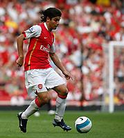 Photo: Steve Bond.<br />Arsenal v Derby County. The FA Barclays Premiership. 22/09/2007. Eduardo attacks