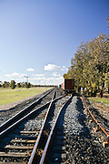 Rail Tracks, Outback NSW, Australia