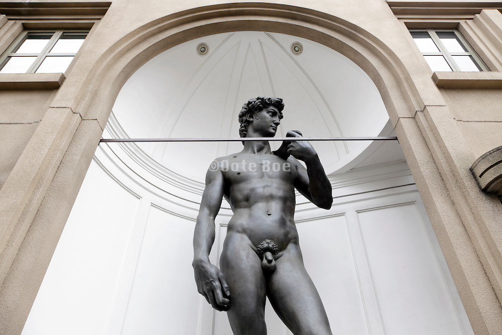 real size reproduction of David by Michelangelo in Tokyo Japan