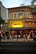 The iconic Cheesecake Factory,  Honolulu, Hawaii RIGHTS MANAGED LICENSE AVAILABLE FROM www.PhotoLibrary.com