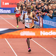 20-10-2019: Atletiek: TCS Amsterdam Marathon: Amsterdam  Dutch champion 2019, Marathon Amsterdam  Abdi Nageeye, Nederlands kampioen Marathon