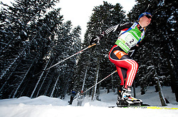 Miriam Goessner of Germany during the Mixed 2x6 + 2x7,5km relay of the e.on IBU Biathlon World Cup on Saturday, December 19, 2010 in Pokljuka, Slovenia. The fourth e.on IBU World Cup stage is taking place in Rudno polje - Pokljuka, Slovenia until Sunday December 19, 2010. (Photo By Vid Ponikvar / Sportida.com)
