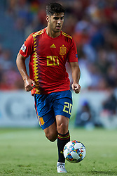 September 11, 2018 - Elche, Alicante, Spain - Marco Asensio in actions during the UEFA Nations League football match between Spain and Croatia at Martinez Valero Stadium in Elche on September 11, 2018  (Credit Image: © Sergio Lopez/NurPhoto/ZUMA Press)