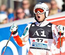 06.02.2011, Hannes-Trinkl-Strecke, Hinterstoder, AUT, FIS World Cup Ski Alpin, Men, Hinterstoder, Riesentorlauf, im Bild Marcus Sandell (FIN) // Marcus Sandell (FIN) during FIS World Cup Ski Alpin, Men, Giant Slalom in Hinterstoder, Austria, February 06, 2011, EXPA Pictures © 2011, PhotoCredit: EXPA/ J. Feichter