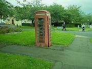 Telephone box, Queensferry. Nr. Edinburgh, Scotland, 12 August 2016