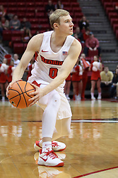 07 January 2018:  Isaac Gassman during a College mens basketball game between the Missouri State Bears and Illinois State Redbirds in Redbird Arena, Normal IL