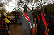 Veterans from the Revolution, arrive to city hall in Ayod, known as the spark of the independence movement, a week after the celebration of the referendum for self determination in South Sudan. (PHOTO: MIGUEL JUAREZ LUGO).