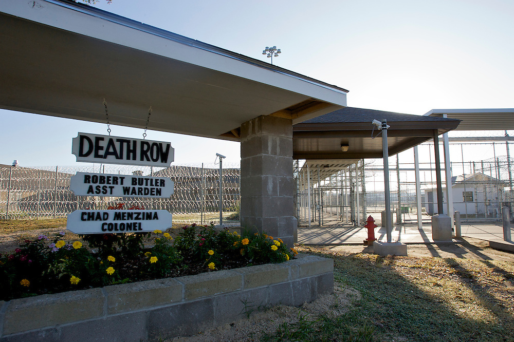 VERENIGDE STATEN-ANGOLA-De Louisiana State Prison. Death Row. COPYRIGHT GERRIT DE HEUS, UNITED STATES-ANGOLA-Louisiana State Penitentiary. Angola Prison. Death Row.   Photo: Gerrit de Heus