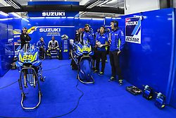November 16, 2018 - Valencia, Valencia, Spain - Circuit de Valencia, Valencia, Spain; MotoGP of Valencia, Friday free practice; Andrea Iannone  (Credit Image: © Giuseppe Piazzolla/Pacific Press via ZUMA Wire)
