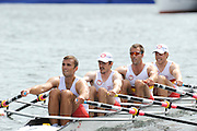 Henley, GREAT BRITAIN, Prince of Walesl Challenge Cup. Tideway Scullers School.  Bow. TYNMAN, .Richard.  .DUNLEY,.James. HENNESSY, Michael .Stroke, KUSURIN, Ante. 2010 Henley Royal Regatta. 14:52:25   Thursday  01/07/2010.  [Mandatory Credit: Peter Spurrier / Intersport-images] Rowing Courses, Henley Reach, Henley, ENGLAND . HRR.