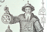 CHICAGO, MUSEUMS and ARTISTS 19th C European Engraving Chinese astronomer of 1600-1700 Art Institute of Chicago