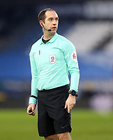 Referee Jeremy Simpson<br /> <br /> Photographer Rich Linley/CameraSport<br /> <br /> The EFL Sky Bet Championship - Saturday 2nd January 2021 - Huddersfield Town v Reading - The John Smith's Stadium - Huddersfield<br /> <br /> World Copyright © 2020 CameraSport. All rights reserved. 43 Linden Ave. Countesthorpe. Leicester. England. LE8 5PG - Tel: +44 (0) 116 277 4147 - admin@camerasport.com - www.camerasport.com