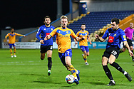 Harry Charsley (7) of Mansfield Town during the EFL Sky Bet League 2 match between Mansfield Town and Harrogate Town at the One Call Stadium, Mansfield, England on 24 November 2020.