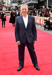 Frank Cottrell-Boyce attending the world premiere of Goodbye Christopher Robin at the Odeon in Leicester Square, London. See PA story SHOWBIZ Goodbye. Picture Date: Wednesday 20 September. Photo credit should read: Ian West/PA Wire
