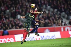 March 15, 2019 - Lille, France, FRANCE - Rui Fonte (Losc) vs JEMERSON  (Credit Image: © Panoramic via ZUMA Press)