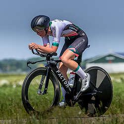 EMMEN (NED) June 16: <br />CYCLING <br />Dutch Nationals Time Trail Women Elite <br />Pien Limpens
