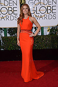 AMY ADAMS @ the 73rd Annual Golden Globe awards held @ the Beverly Hilton hotel.<br /> ©Exclusivepix Media