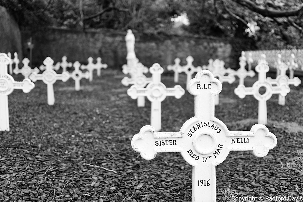 Cemetery at St. Mary's church in Dingle, Ireland