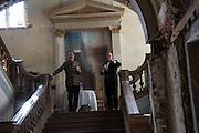 ALEXANDER CRESWELL;  DAVID DELANEY, Opening of Grange Park Opera, Fiddler on the Roof, Grange Park Opera, Bishop's Sutton, <br /> Alresford, 4 June 2015