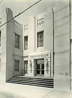 1930 Technicolor Lab at Cole St. & Santa Monica Blvd.