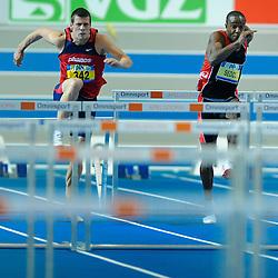 07-02-2010 ATLETIEK: NK INDOOR: APELDOORN<br /> Gregory Sedoc en Mike van Kruchten<br /> ©2010-WWW.FOTOHOOGENDOORN.NL