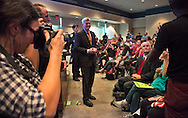 Republican Sen. Bill  Cassidy town hall at his town hall meeting in Metairie, LA at the Eastbank Regional Library Feb. 22, 2017.