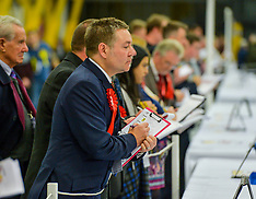North Lanarkshire election counting gets under way, Motherwell, 12 December 2019