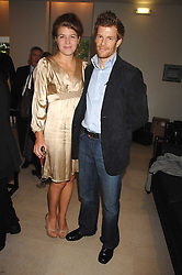 Chef TOM AIKENS and his wife AMBER at an evening with racing driver Lewis Hamilton held at The Hempel Hotel, 31-35 Craven Hill Gardens, London W2 on 4th July 2007.<br /><br />NON EXCLUSIVE - WORLD RIGHTS